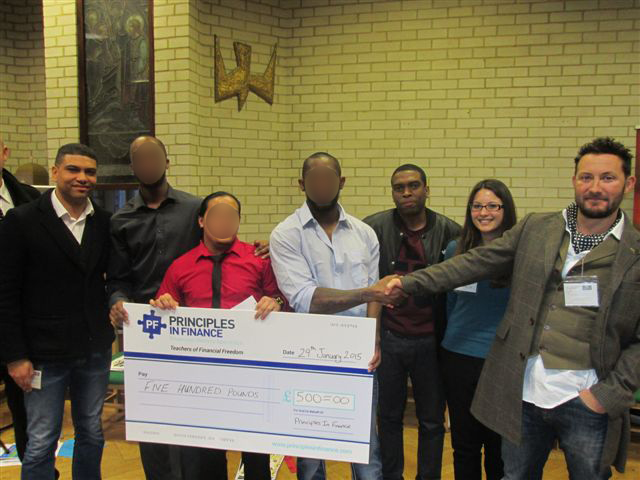 Feltham Young Offenders Institute – The winners and judges